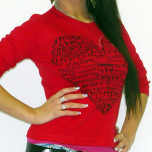 Womens Long Sleeve One In The City Amour 00275