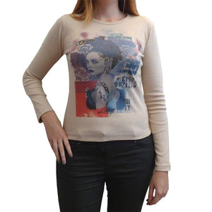 Womens Long Sleeve Top One In The City Scarlett 00275