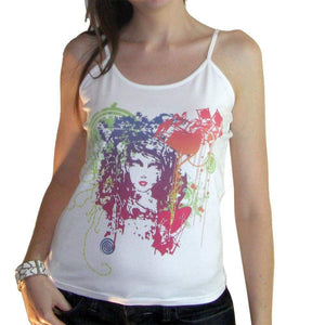 Womens Top One In The City Mystica Light