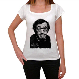 Woody Allen Womens T-Shirt Picture Celebrity 00038
