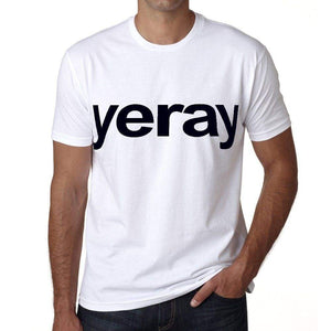 Yeray Mens Short Sleeve Round Neck T-Shirt 00050