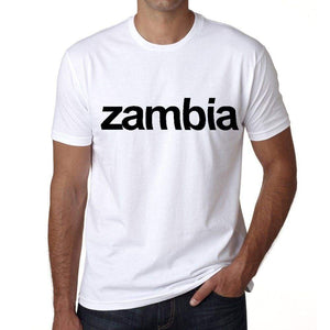 Zambia Mens Short Sleeve Round Neck T-Shirt 00067
