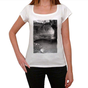 Zion National Park Womens Short Sleeve Round Neck T-Shirt 00111