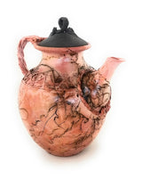 Teapot with Lid - Spanish Moss by John Moore