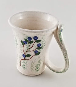 Blueberry Mug - Earthenware