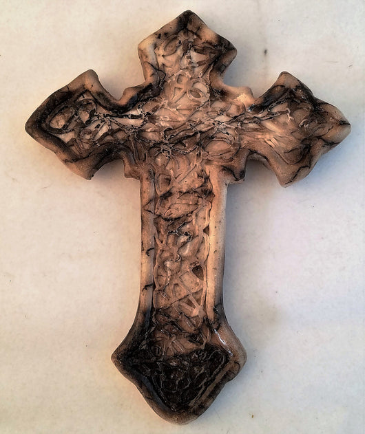 Horsehair Large Cross 7