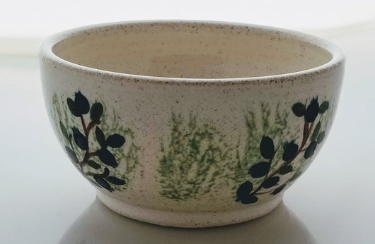 Blueberry Earthenware Bowl