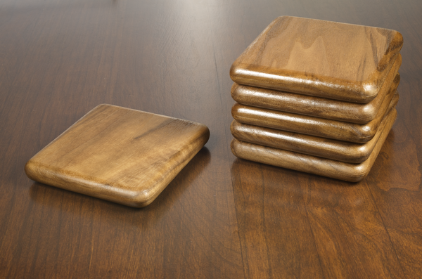 Walnut Coaster