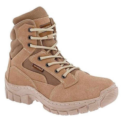 Botas hiking Exterior Gamuza Sintética Color Beige de Trends