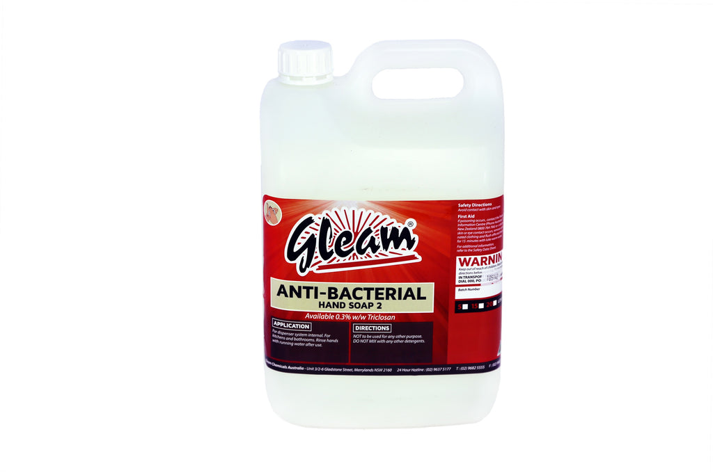 ANTI-BACTERIAL LIQUID HAND SOAP 2 5L