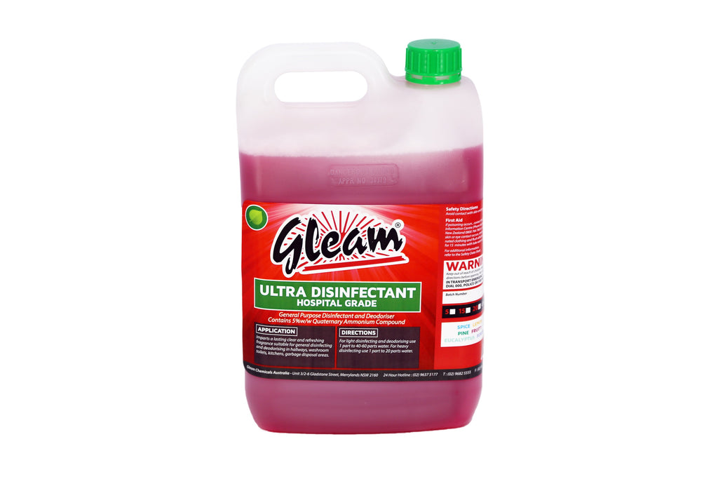 ULTRA DISINFECTANT HOSPITAL GRADE FRUITTY 20L | KILLS 99% OF BACTERIA & GERMS