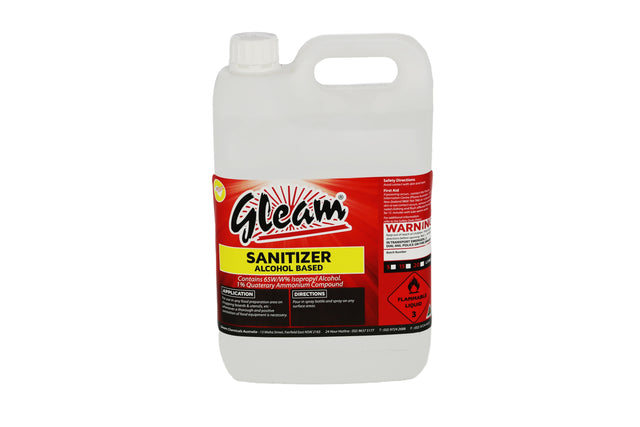 ALCOHOL SANITISER FOR HARD SURFACES 5L