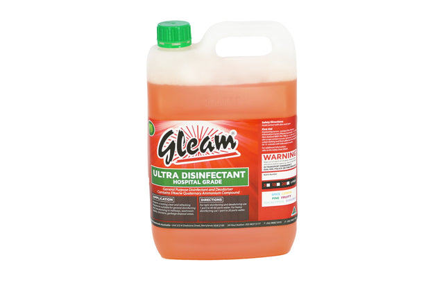 ULTRA DISINFECTANT HOSPITAL GRADE LEMON 5L | KILLS 99% OF BACTERIA & GERMS