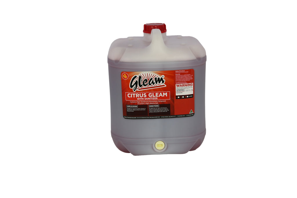 CITRUS GLEAM WITH SANITISER 20L
