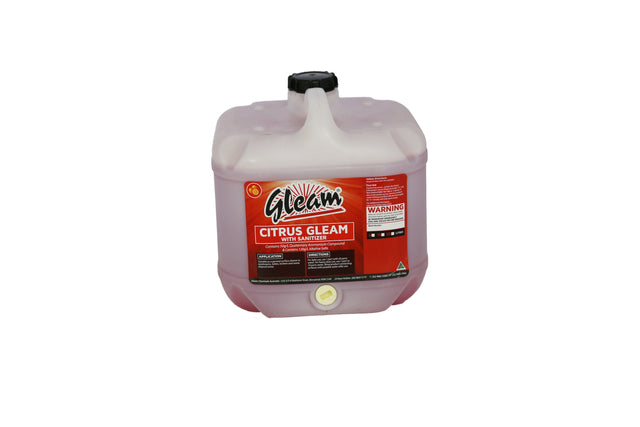 CITRUS GLEAM WITH SANITISER 15L