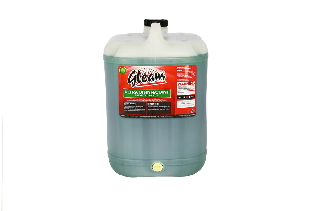 ULTRA DISINFECTANT HOSPITAL GRADE EUCALYPTUS 25L | KILLS 99% OF BACTERIA & GERMS