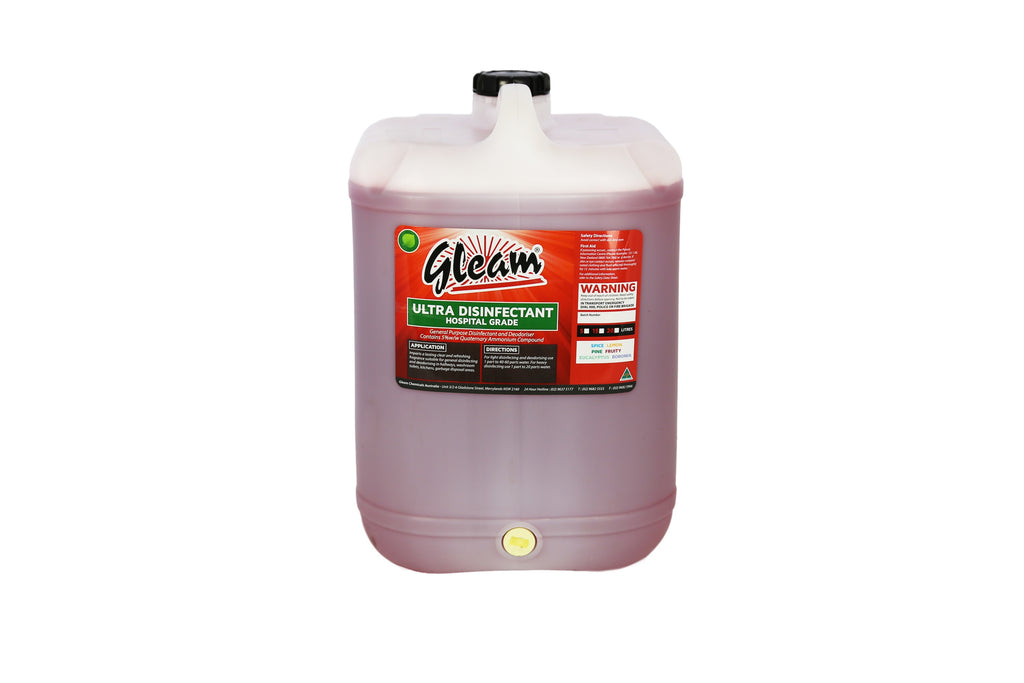 ULTRA DISINFECTANT HOSPITAL GRADE FRUITTY 25L | KILLS 99% OF BACTERIA & GERMS