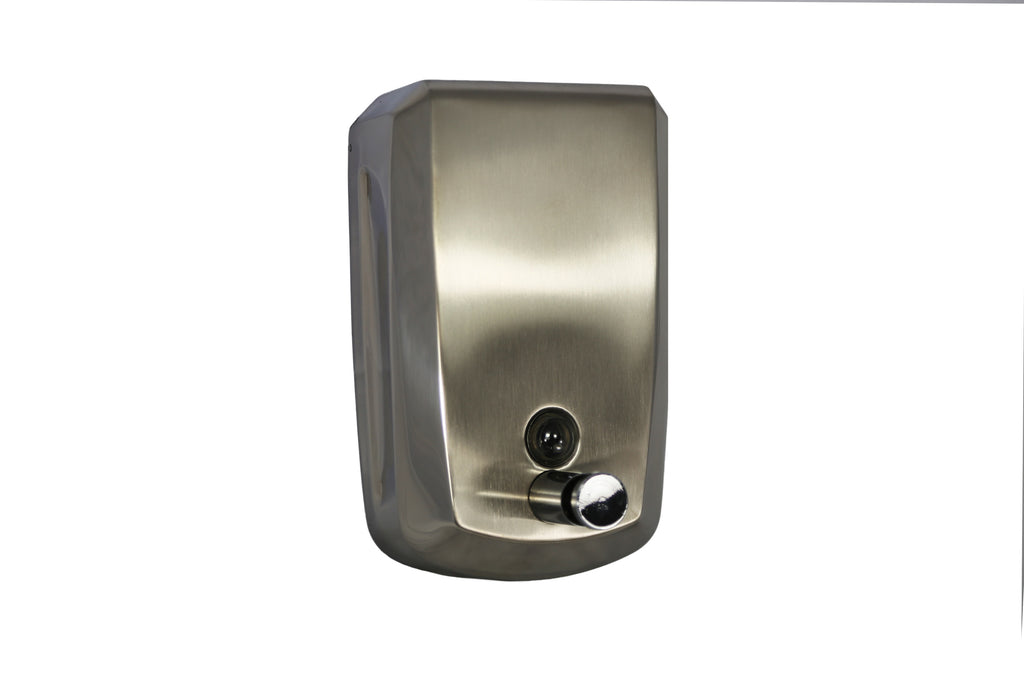 GLEAM S/STEEL VERTICAL HAND SOAP DISPENSER 1 UNIT