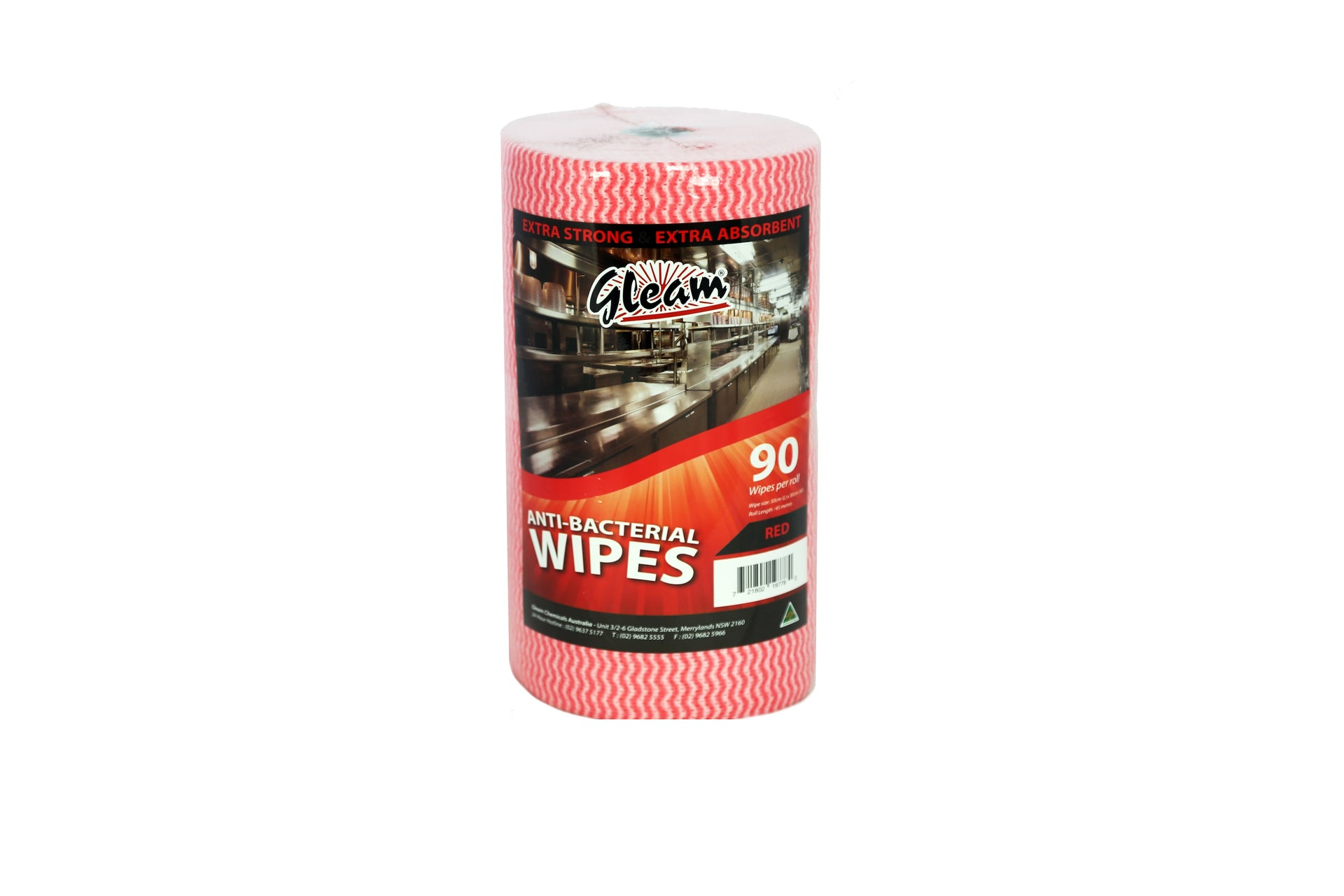 ANTIBACTERIAL FOOD SERVICE WIPES 1 ROLL