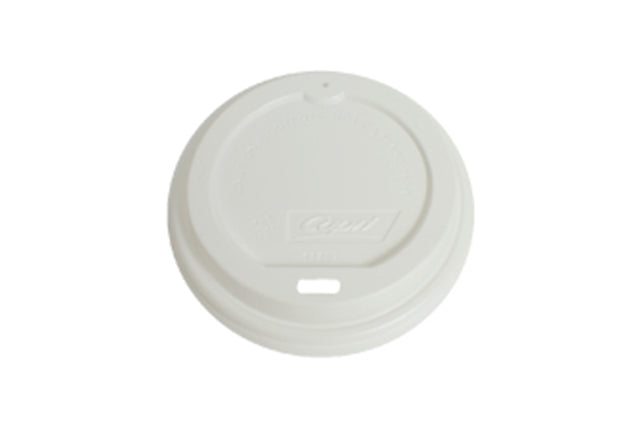 WHITE LIDS FOR BLACK COFFEE CUP WAVE GROOVE 16OZ 1000 UNITS