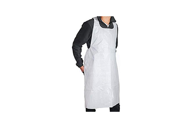 DISPOSABLE APRONS 700X1150MM CARTON 1000 UNITS