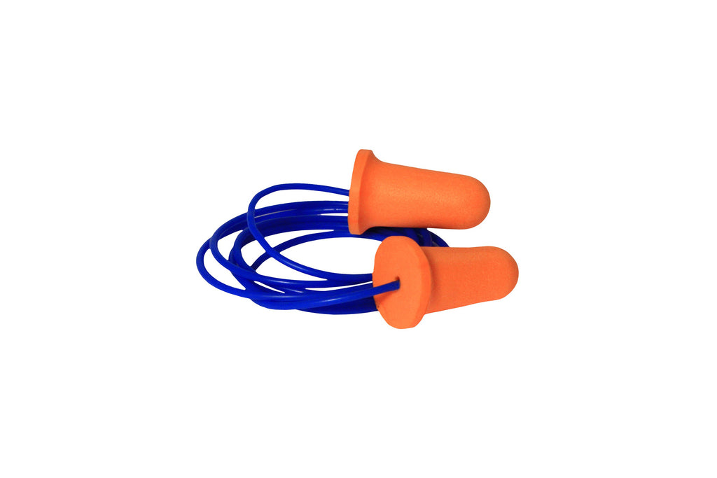 EARPLUGS WITH CORD PACKET OF 100