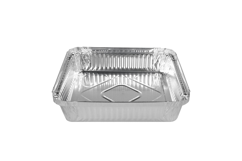 FOIL CONTAINER 1.1KG 202X137X34MM(TOP-IN) 400 UNITS