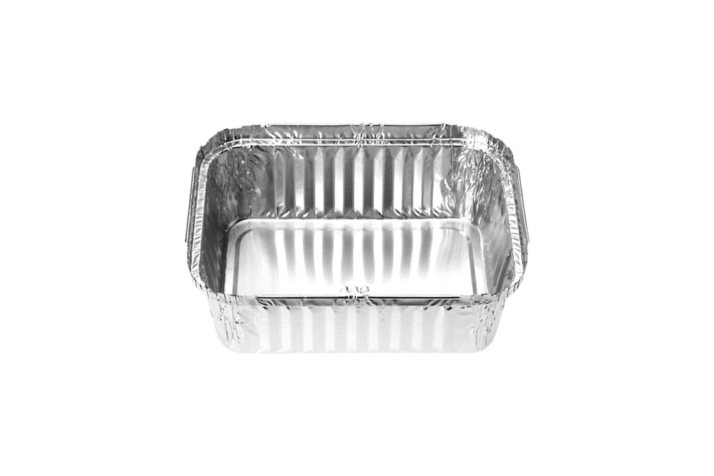 FOIL CONTAINER 40OZ 178X128X48MM(TOP-IN) 400 UNITS