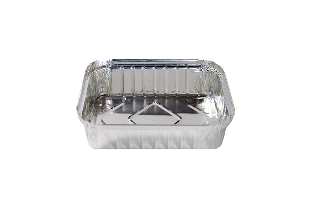 FOIL CONTAINER 2.4KG 292X191X51MM (TOP-IN) 100 UNITS