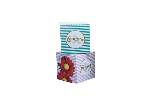 FINESSE 2PLY CUBED FACIAL TISSUES 90 SHEET 36 BOXES