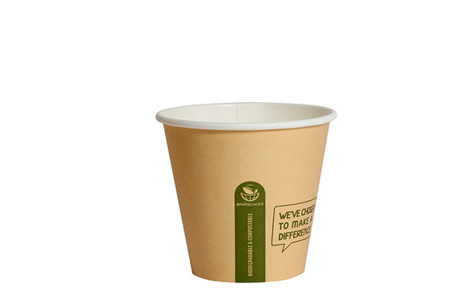 ENVIROCHOICE 8OZ SUPER SINGLE WALL CUP KRAFT 1000 UNITS