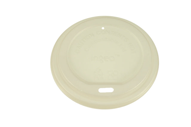 ENVIROCHOICE CPLA LIDS TO SUIT 8OZ SUPER, 12OZ & 16OZ COFFEE CUPS 92MM 1000 UNITS