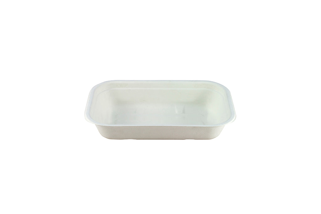 NATURAL FIBRE RECTANGULAR CONTAINER 500ML