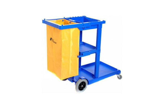 JANITOR CART AND BAG