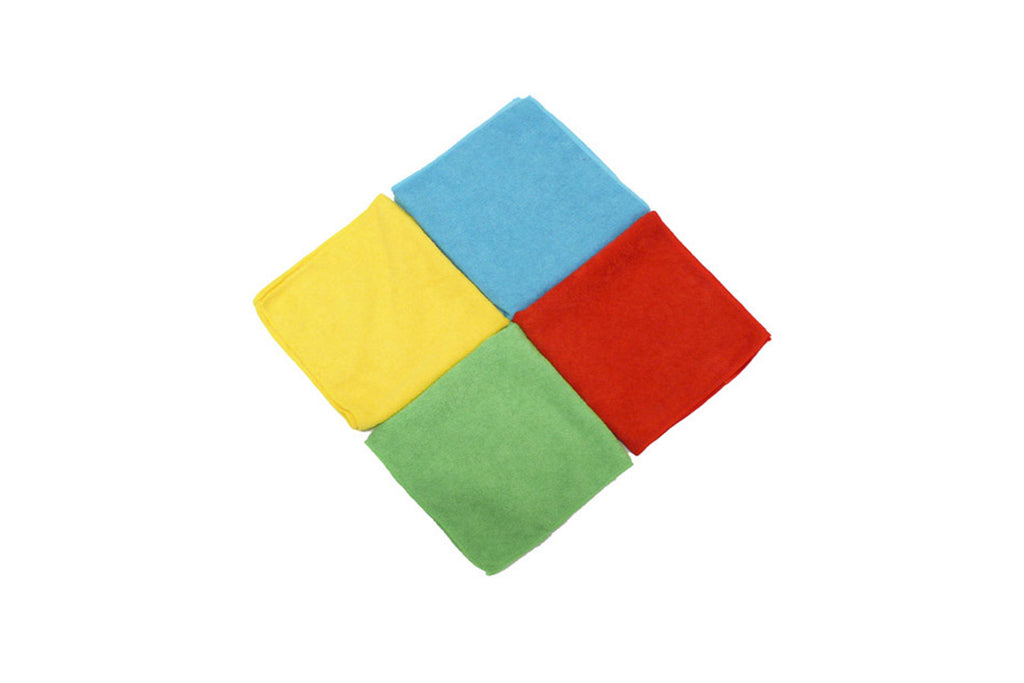 MICROFIBER CLOTHS PACKET OF 10