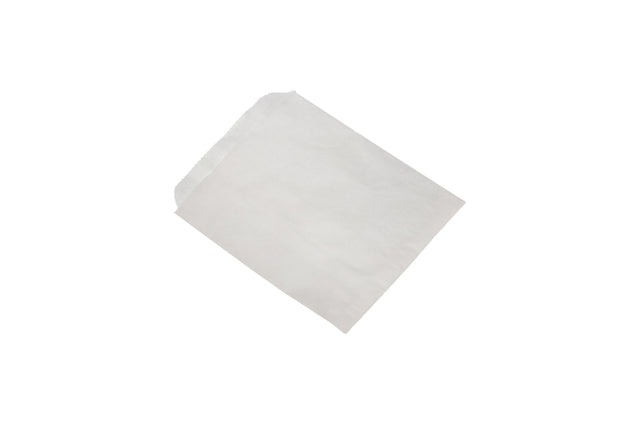 PAPER BAG WHITE 165X178MM 500 UNITS