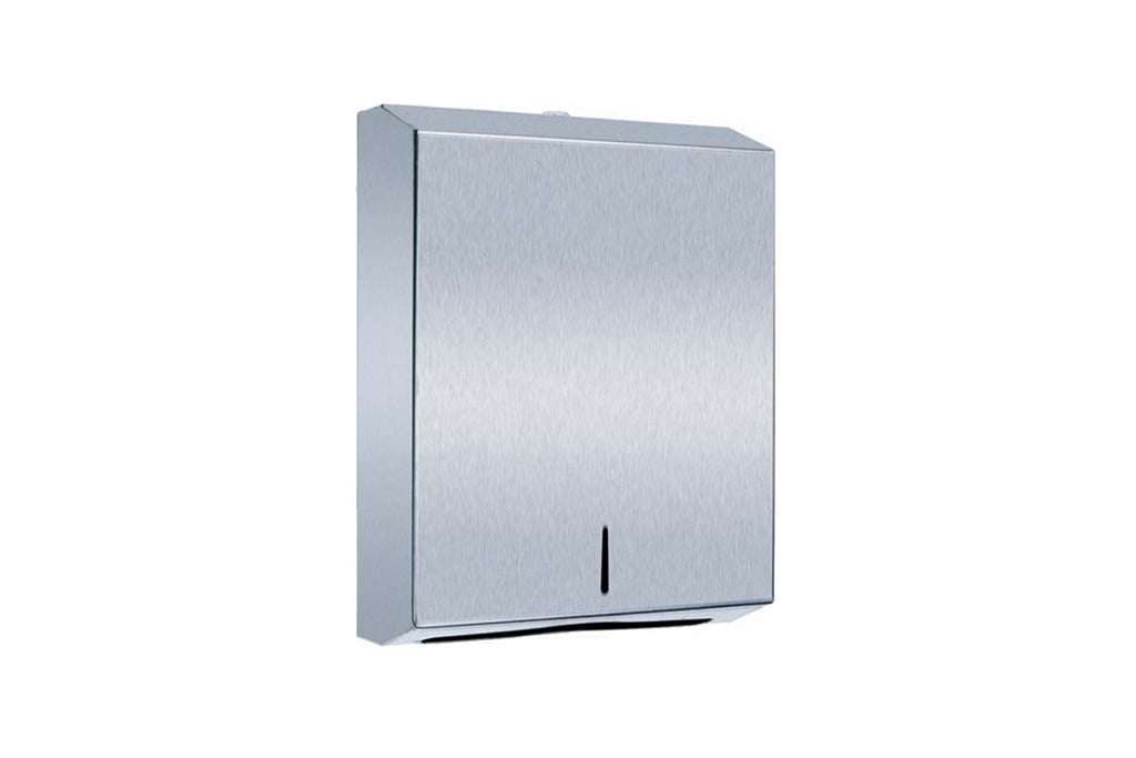 SPECIAL STAINLESS STEEL INTERLEAVED HAND TOWEL DISPENSER 1 UNIT