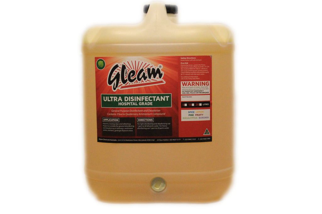 ULTRA DISINFECTANT LEMON 20L