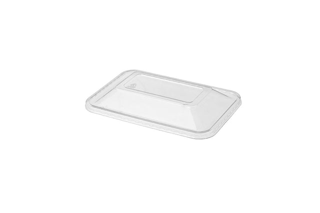 DOME LIDS FOR 500ML BLACK RECTANGULAR CONTAINERS 500 UNITS
