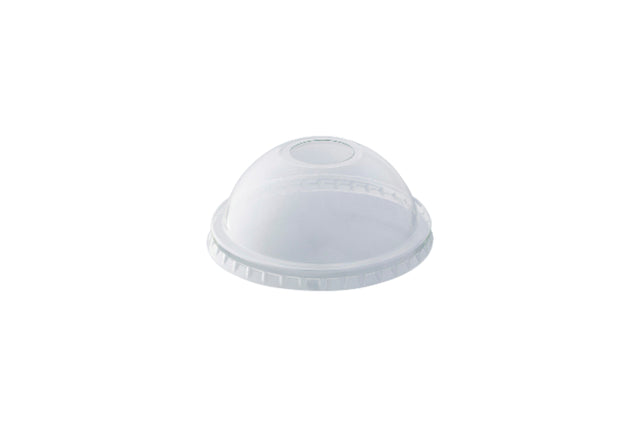 DOME LIDS TO SUIT 10OZ CLEAR PET CUP 1000 UNITS