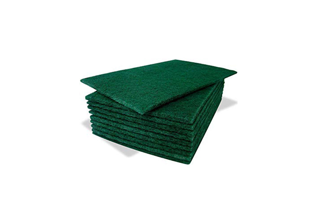 GREEN SCOURERS PACKET OF 10