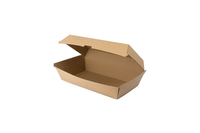 CARDBOARD SNACK BOX WITH LID 200 UNITS