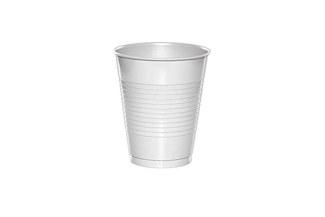 6OZ WHITE PLASTIC CUP 1000 UNITS