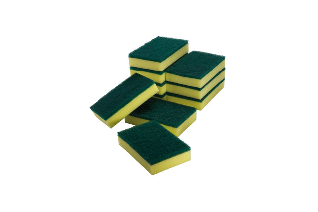 SPONGE SCOURERS PACKET OF 10