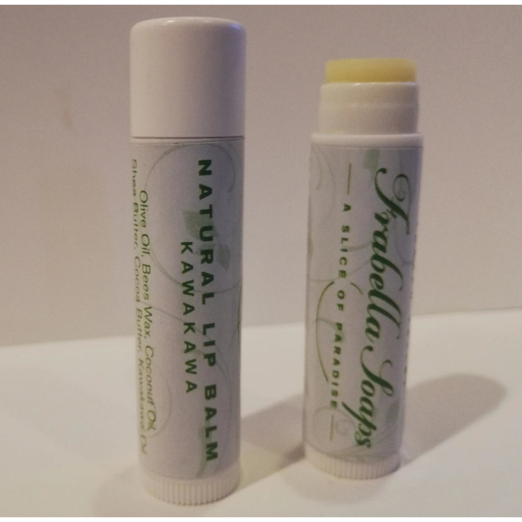New Zealand Made Natural Lip Balm with Kawakawa