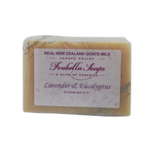 Load image into Gallery viewer, Lavender & Eucalyptus Goats Milk Soap