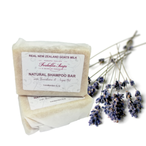 Natural Shampoo Bar with Kawakawa