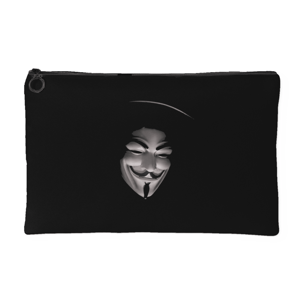 anonymous small accessory pouch black planetstorefront rh planetstorefront myshopify com small anonymous function