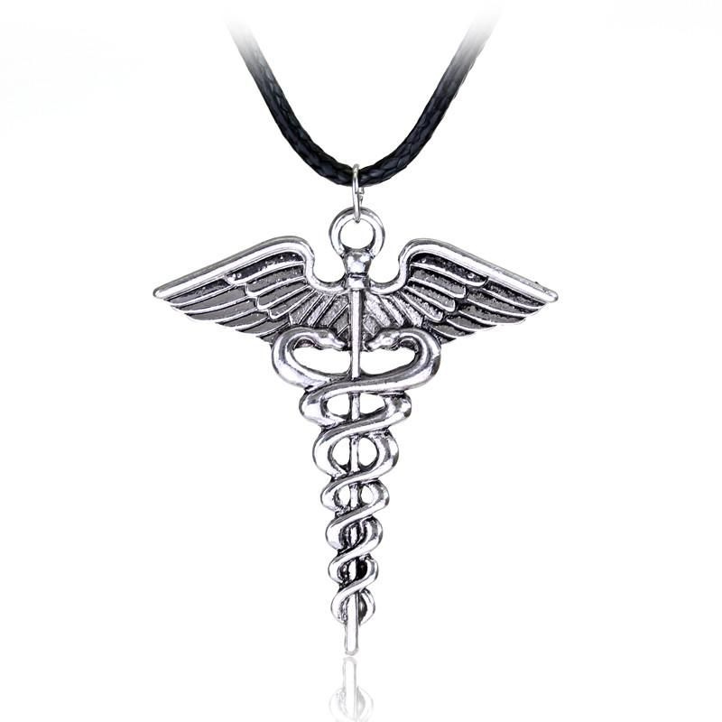 Classic Silver Plated Medical Symbol For Nurse And Doctor Wear This