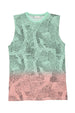 ABSTRACT TANK DRESS RAINBOW - Zuttion